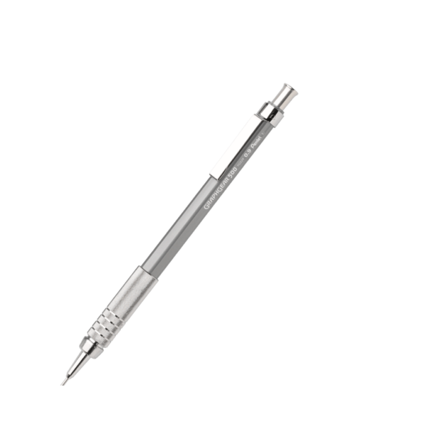 Pentel Graph Gear 500 Mechanical Drafting Pencils  - Gray Barrel  0.9 mm