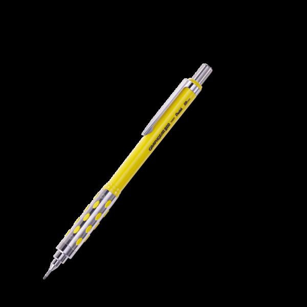 Pentel Graph Gear 800 Mechanical Drafting Pencils  - Yellow Barrel  0.9 mm