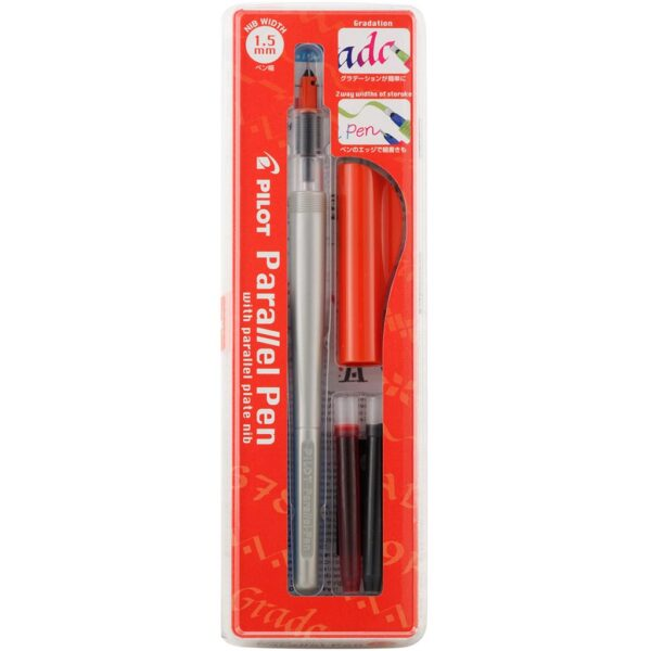 Pilot Parallel Calligraphy Pens - Red Width 1.5 mm