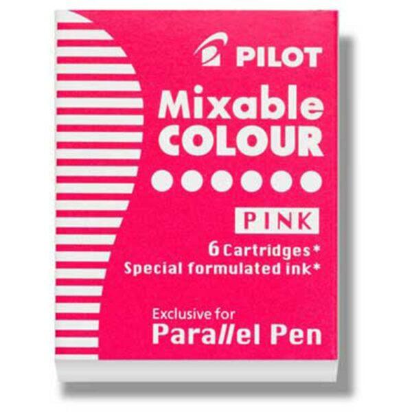 Pilot Parallel Calligraphy Pen Refills - Pink Refill Pack of 6