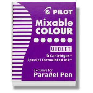Pilot Parallel Calligraphy Pen Refills - Purple Refill Pack of 6