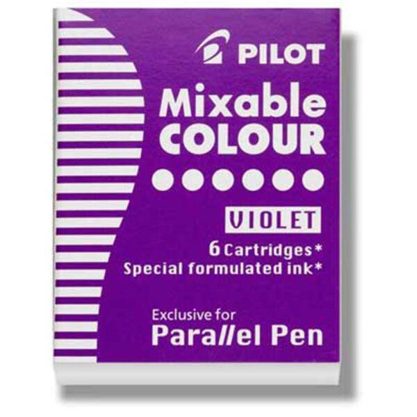 Pilot Parallel Calligraphy Pen Refills - Purple Refill Pack of 6