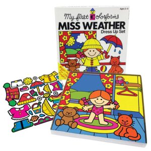 Colorforms Miss Weather Open