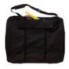 Prat SF Soft Side Portfolios - Black 24 x 36in 3 in Gusset