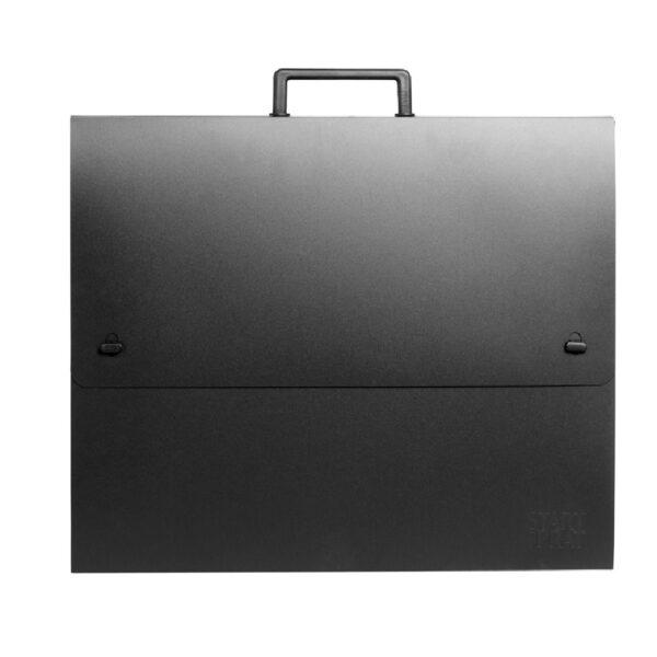Prat Start o Essential Portfolio Black 23 x 31 x 1.5in
