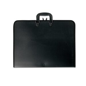 Prat Start 1 Portfolios - Black 24 x 36 x 3 in Gusset