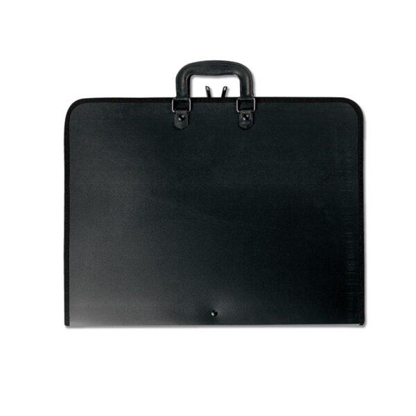 Prat Start 1 Portfolios - Black 24 x 36 x 3 in Gusset