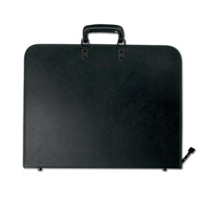 Prat Start 2 Portfolios - Black 31 x 42 x 3 in Gusset