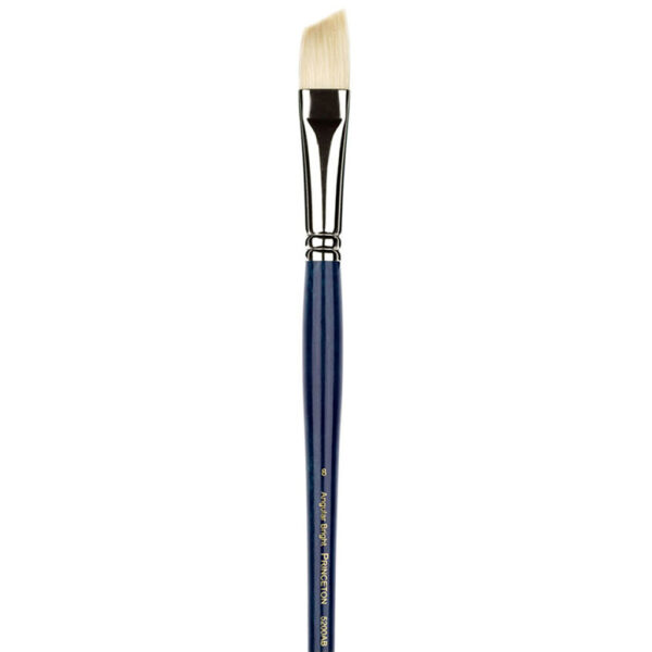 Princeton Ashley Series 5200 Natural Bristle Brushes - Angle Bright Sz 8