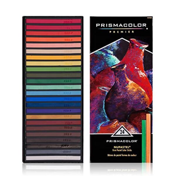 Prismacolor Nupastel Color Stick Sets - Set of 24 Colors