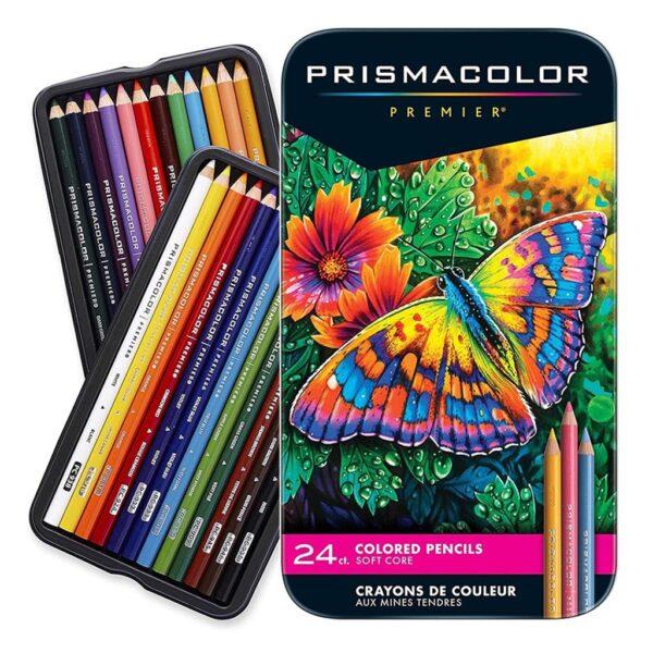 Prismacolor Premier Colored Pencil Sets - Set of 24 Colors