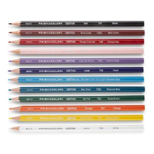 Prismacolor Verithin Colored Pencil Sets - Set of 12 Colors