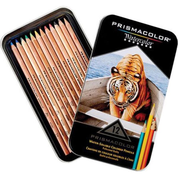 Prismacolor Watercolor Pencil Sets - Set of 12 Colors