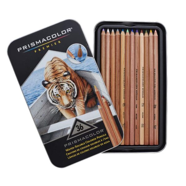 Prismacolor Watercolor Pencil Sets - Set of 36 Colors