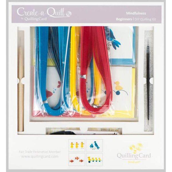Quilled Beginner Kit Duck Fish