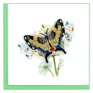Quilled Swallowtail Butterfly Card