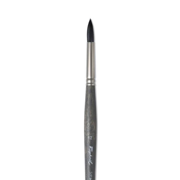 Raphael Softacryl Synthetic Bristle Brushes - Long Handle 861 Round Sz 36