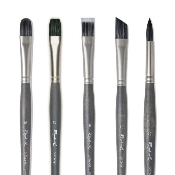 Raphael Softacryl Synthetic Bristle Brushes