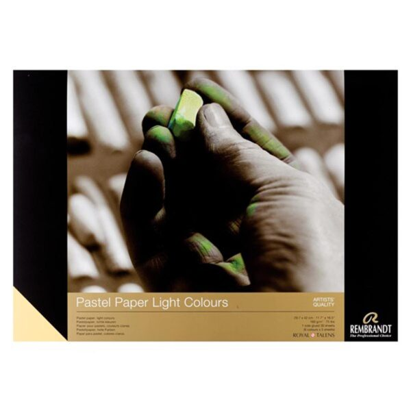 Rembrandt Pastel Paper Pads - Light Colors 160g/75lbs Light 11.8 x 15.7in