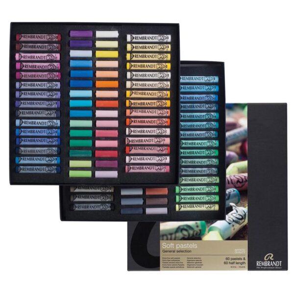 Rembrandt Soft Pastel General Selection Master Set 300C60