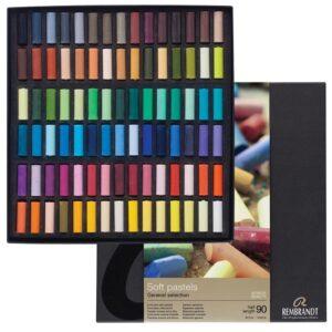 Rembrandt Soft Pastel Half Stick Sets - 300C90.5 Professional Set of 90