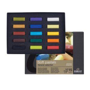 Rembrandt Soft Pastel Half Stick Sets - C15.5 Starter Set of 15