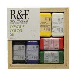 R & F Encaustic Opaque Color Set