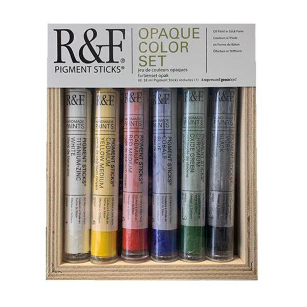 R & F Pigment Stick Opaque Color Set
