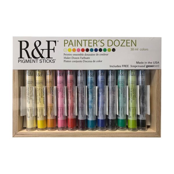 R & F Pigment Stick Painters Dozen Set