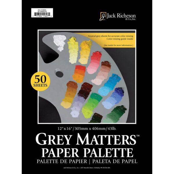 Richeson Grey Matters Palette 12in x 18in