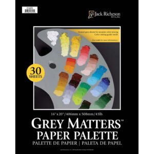 Richeson Grey Matters Palette 16in x 20in