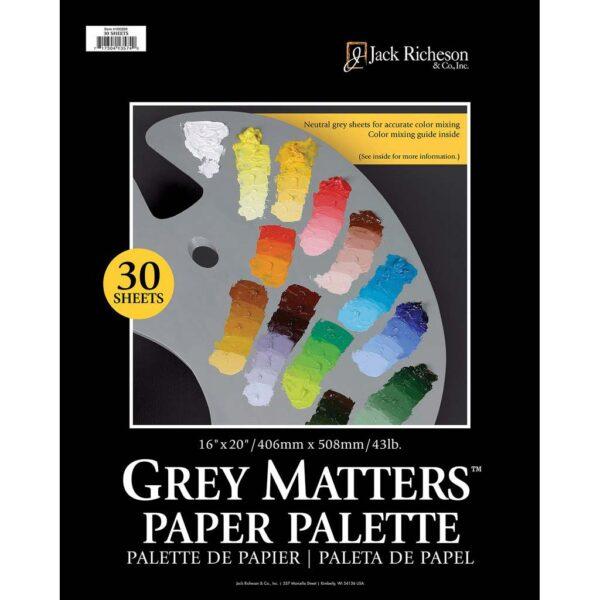 Richeson Grey Matters Palette 16in x 20in