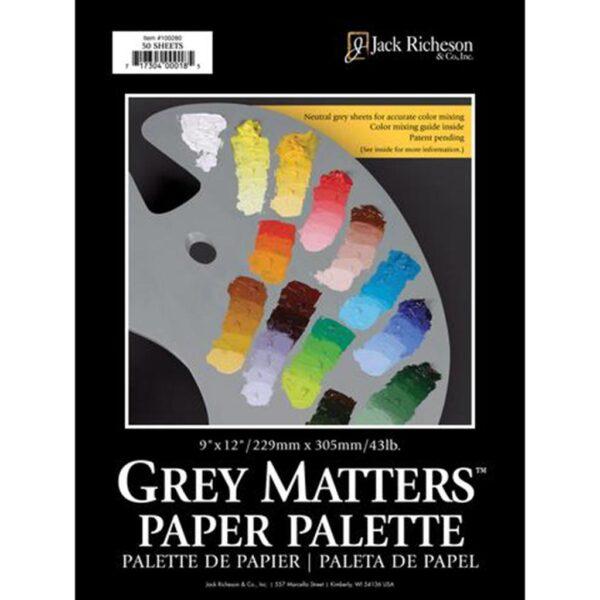 Richeson Grey Matters Palett. 9in x 12in