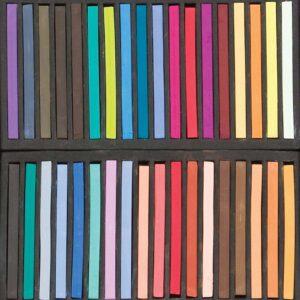 Richeson Semi-hard Square Pastel Sets - Set of 36