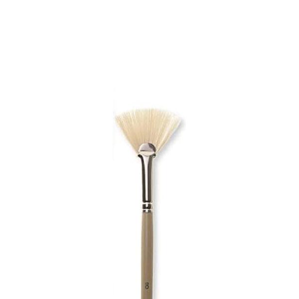 Robert Simmons Signet Bristle Brushes - Long Handle 408 Fan Sz 12
