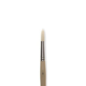 Robert Simmons Signet Bristle Brushes - Long Handle 40R Round Sz 12