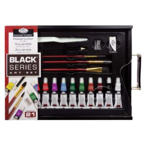 Royal Black Series Art Set Watercolor 21pc