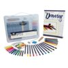 Royal Drawing Clearview Art Set 37pc