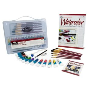 Royal Watercolor Clearview Art Set 24pc