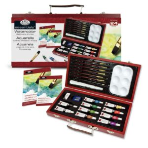 Royal Watercolor Painting Set 24 Piece