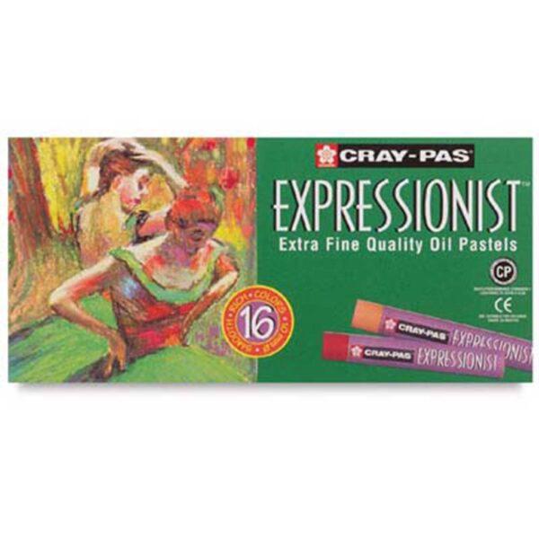 Sakura Cray-Pas Expressionist Oil Pastel Sets - Set of 16
