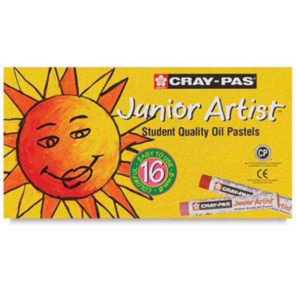 Sakura Cray-Pas Junior Oil Pastel Sets - Set of 16