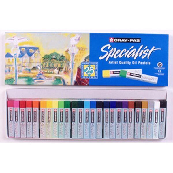 Sakura Cray-Pas Specialist Oil Pastel Sets - Set of 25
