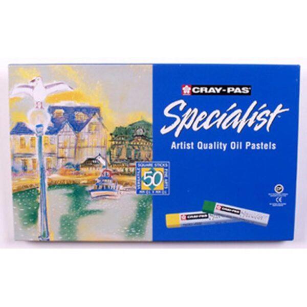 Sakura Cray-Pas Specialist Oil Pastel Sets - Set of 50