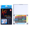Sakura Koi Watercolor Pocket Field Sketchbox 48 Pan W/ Brush