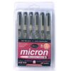 Sakura Pigma Micron Pen Sets - 05 (0.45 mm) Set of 6