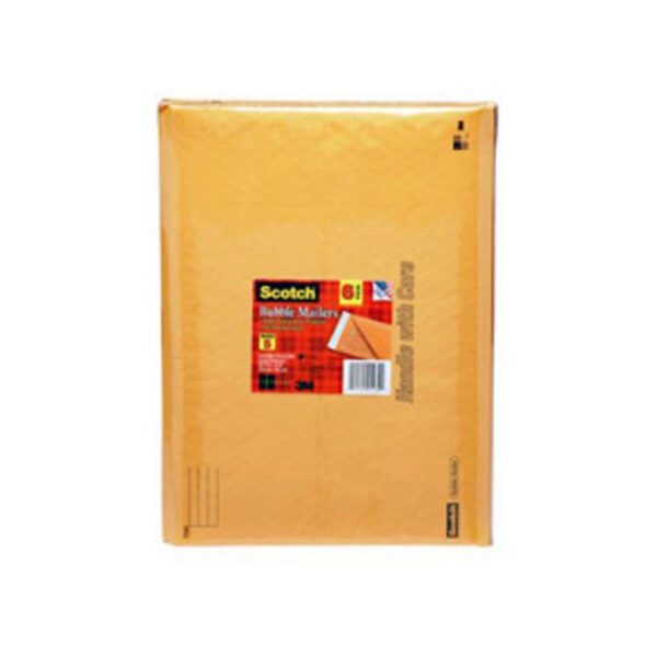 3M Cushioned Mailer Yellow 8.5in W x 11in L