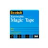 Scotch 811 Magic Tape Removable 3/4 in W x 36YD