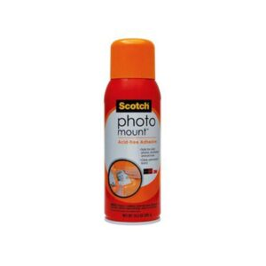 Scotch Photo Mount Spray Adhesive