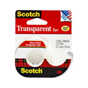 Scotch Transparent Tape 144 Gloss
